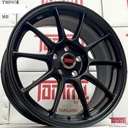 17x7.5 Tommi TMF076 Flow-forming Wheels Matt Black