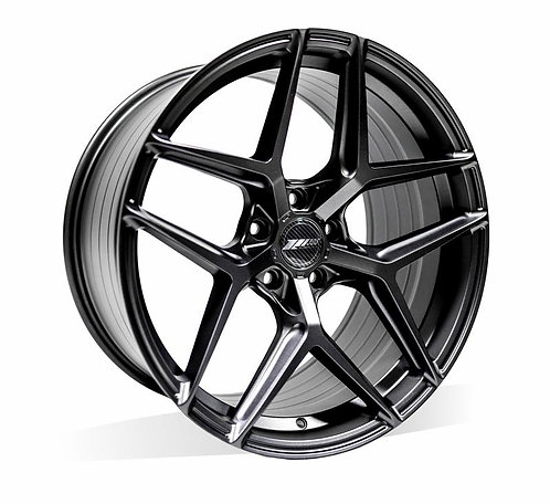17x8.0 305Forged Rims Flow Technik FT117  Stealth Black