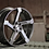 Thumbnail: 20x8.5 HPD Rims Kink Gunmetal with Brushed Face
