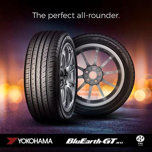 185/55R16 Yokohama 83V BluEarth-GT AE51 - Made in Japan