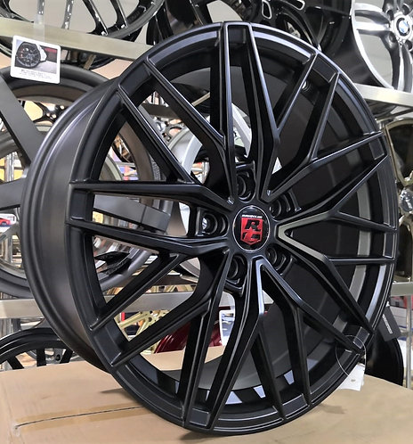 18x8.0 RC15 Matt Black