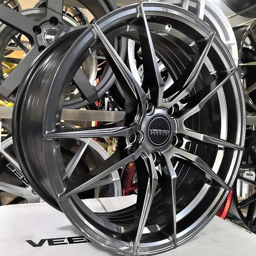 17x7.5 Varro Flow-forming Wheels VD18X Hyper Black