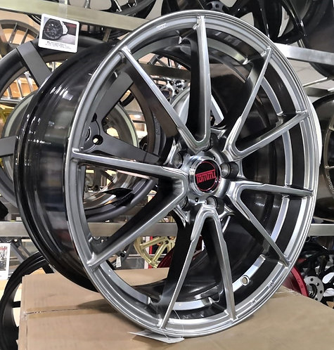 18x8.0 Tommi TMF042 Flow-forming Rims Hyber Bright