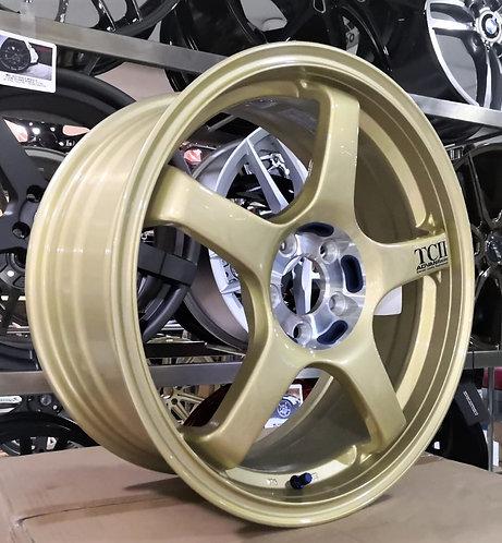17x7.5 Advan Racing Rims TCII Gold