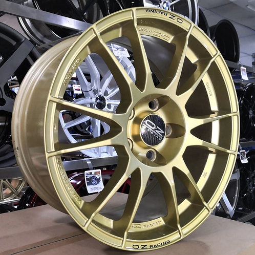 17x8.0 OZ ROIULTGR17805H4 Race Gold