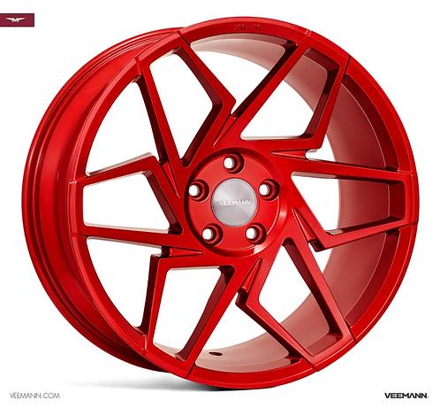 19x9.5 Veemann Rims VFS-27F Candy Red