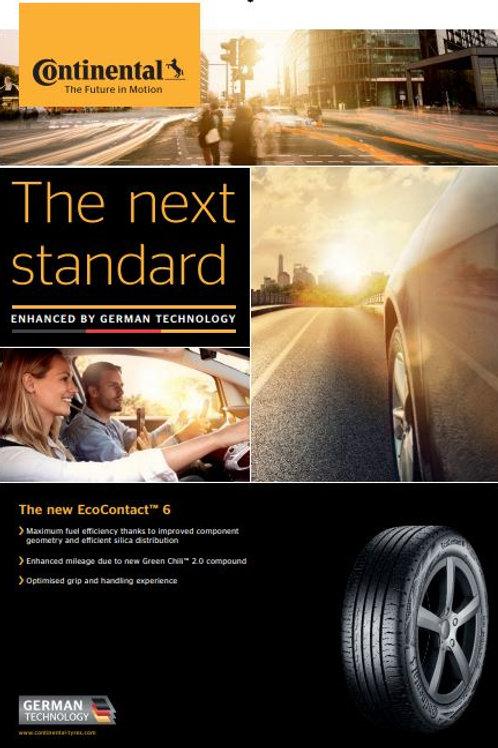 205/60R16 Continental EcoContact 6 CEC 6 92H (EU)