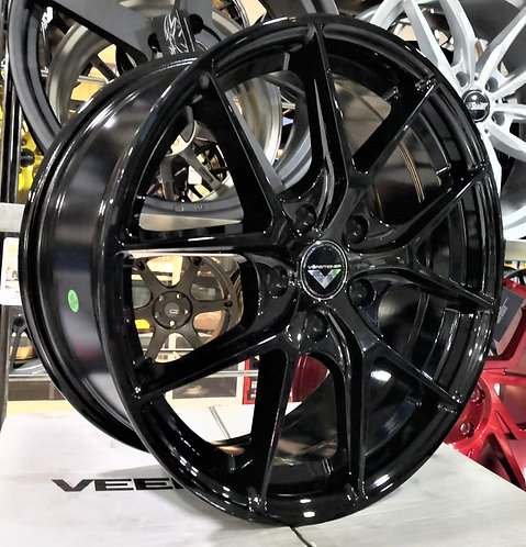 17x7.5 Rims 5796 Gloss Black