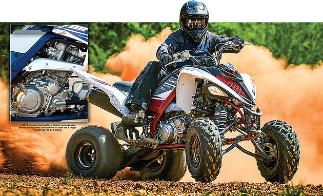 HISTORY OF THE RAPTOR 660/700 | The ATV World