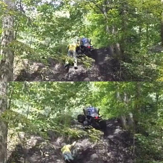 Instagram - Hmm...think 4wheeler work better when you ride them, not fall down t