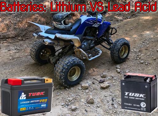 Lithium Batteries VS Lead Acid Batteries