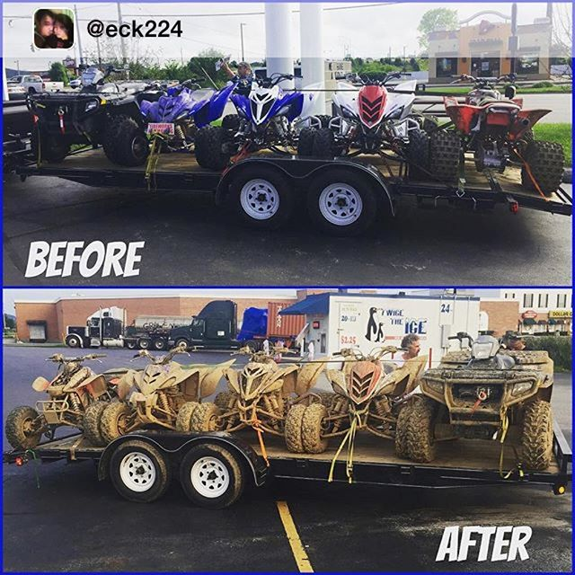 Instagram - Repost from @eck224 via @igrepost_app, Before and After from our rid