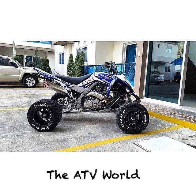 Instagram - Ready to tear up the streets!! #theatvworld #atv #quad @enm_requena