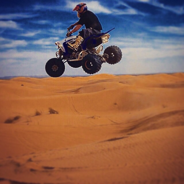 Instagram - When in doubt, air it out! #theatvworld #atv #quad #riding #jump #ai