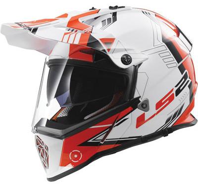 LS2 Pioneer Adventure Helmet