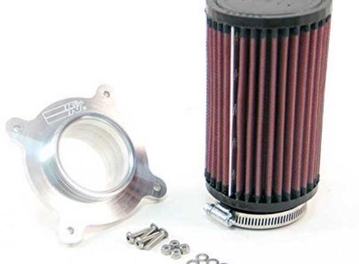 K&N Air Filter and BilletAdapter