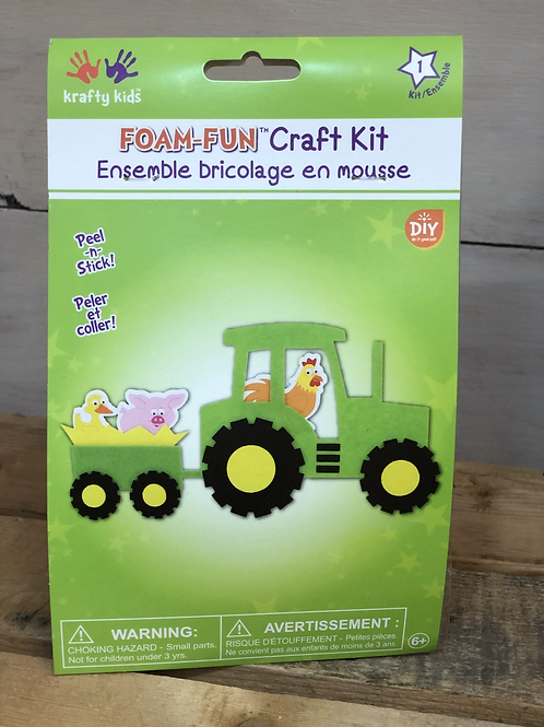 Foam Fun Tractor Kit