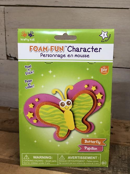 Foam Fun Butterfly Kit