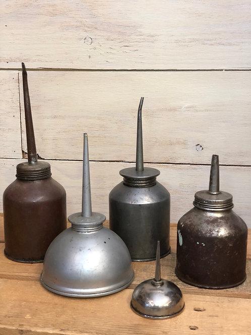 Antique Oil Dispensers