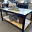Thumbnail: Hand Built Poplar and Steel Coffee Table