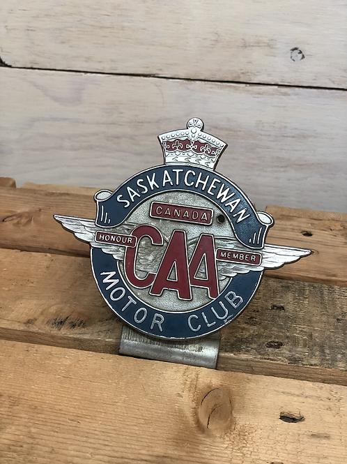 Antique CAA Medallion