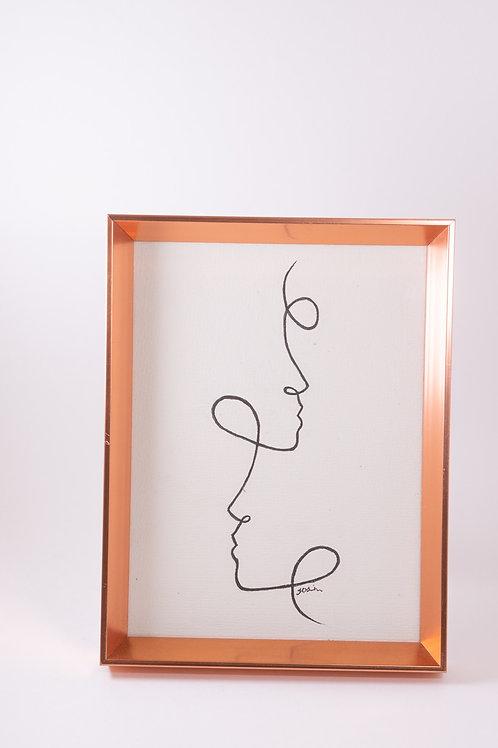 Line Art Drawing 4 - Josie Jamieson