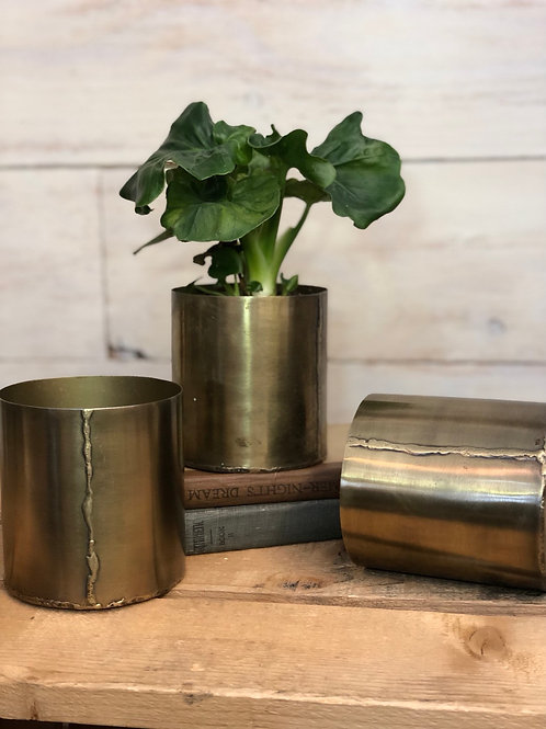 Hand Forged Brass Vessel -Farmers Son