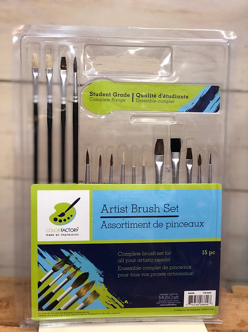 Student Craft Artist Brushes