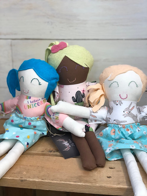 Hand sewn Dolly's