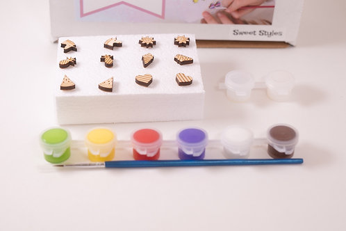 Paintable Earring Kits