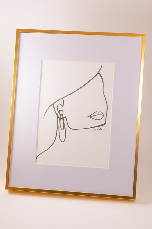 Line Art Drawing 3 - Josie Jamieson