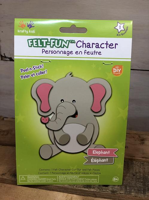Felt Fun Elephant Kit