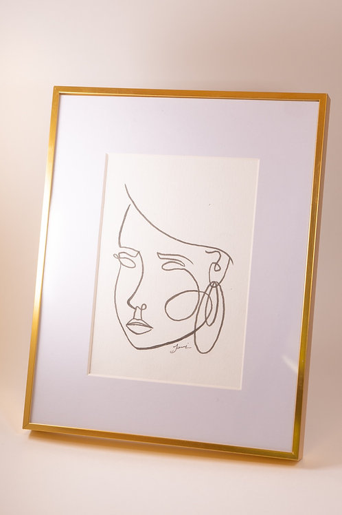 Line Art Drawing 2 - Josie Jamieson
