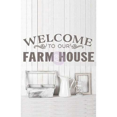 Our Farmhouse Transfer