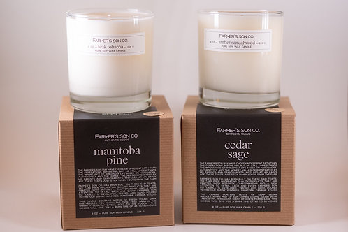 Farmer's Son Candle Signature Collection