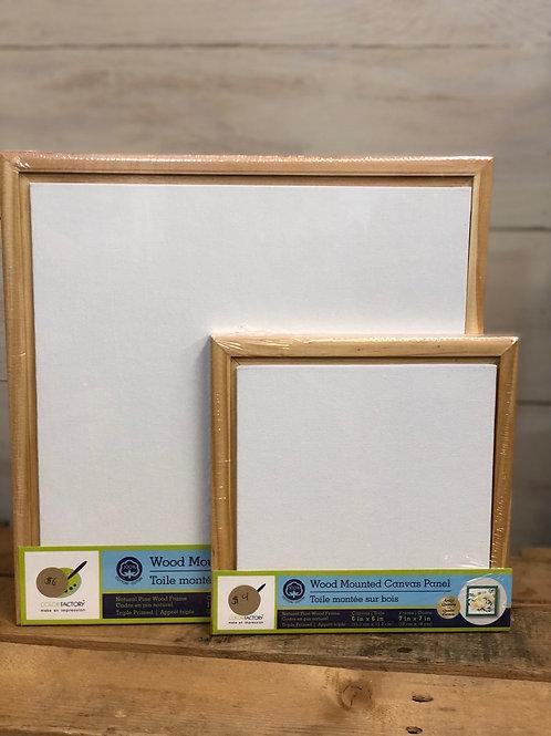 Wood Framed Canvas