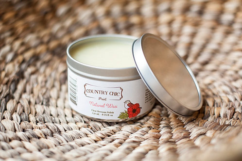 Country Chic Natural Furniture Wax
