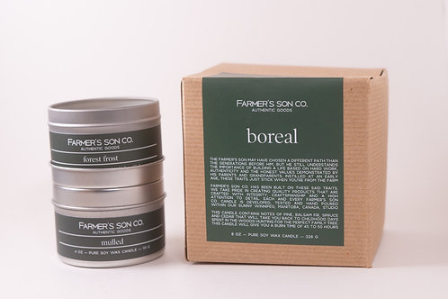 Farmer's Son Candle Winter Collection