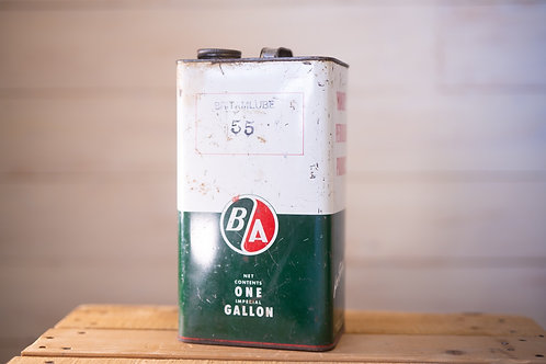 Antique BA Oil Can