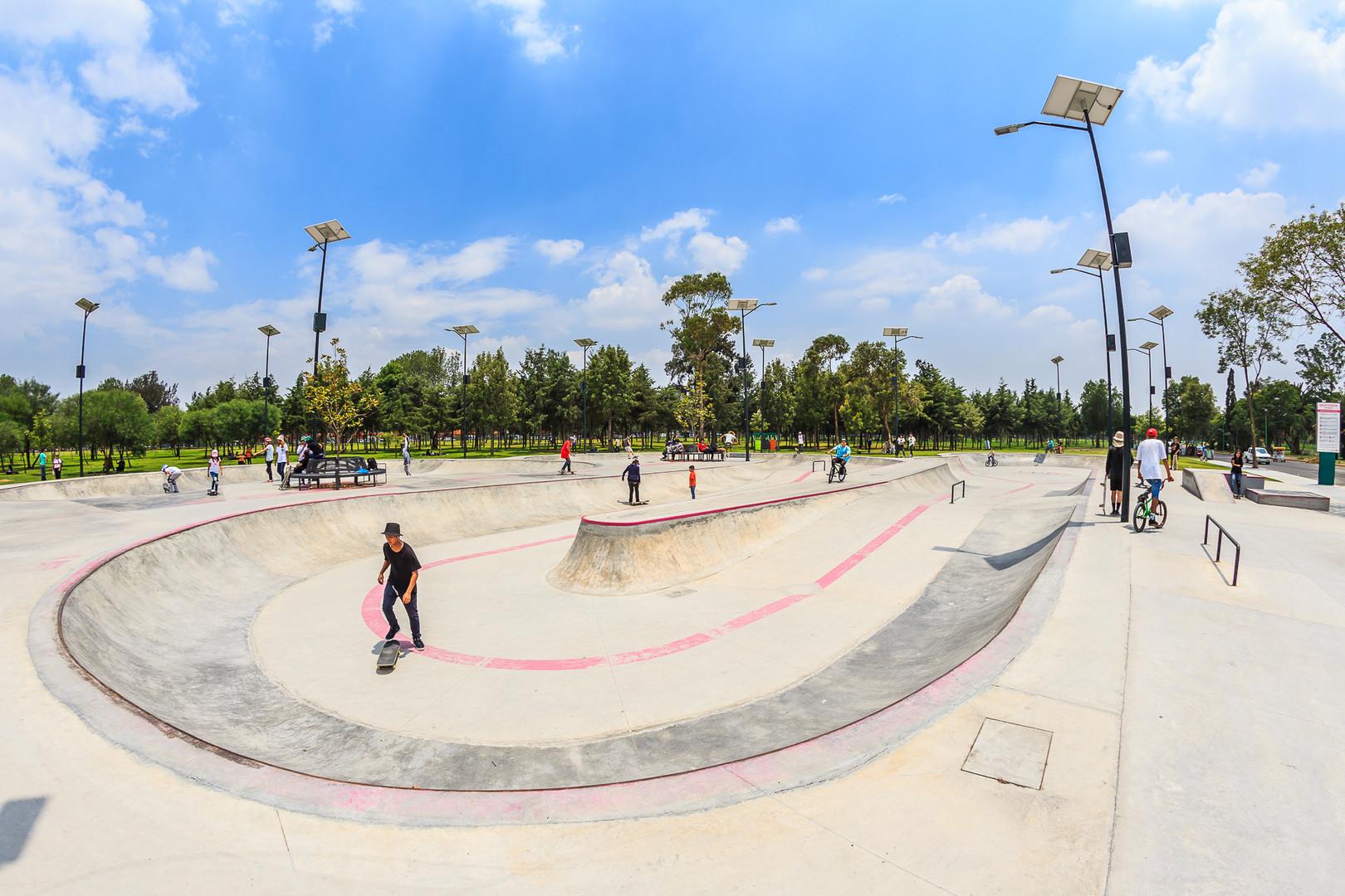 Skate Park, Bosque San Juan de Aragón