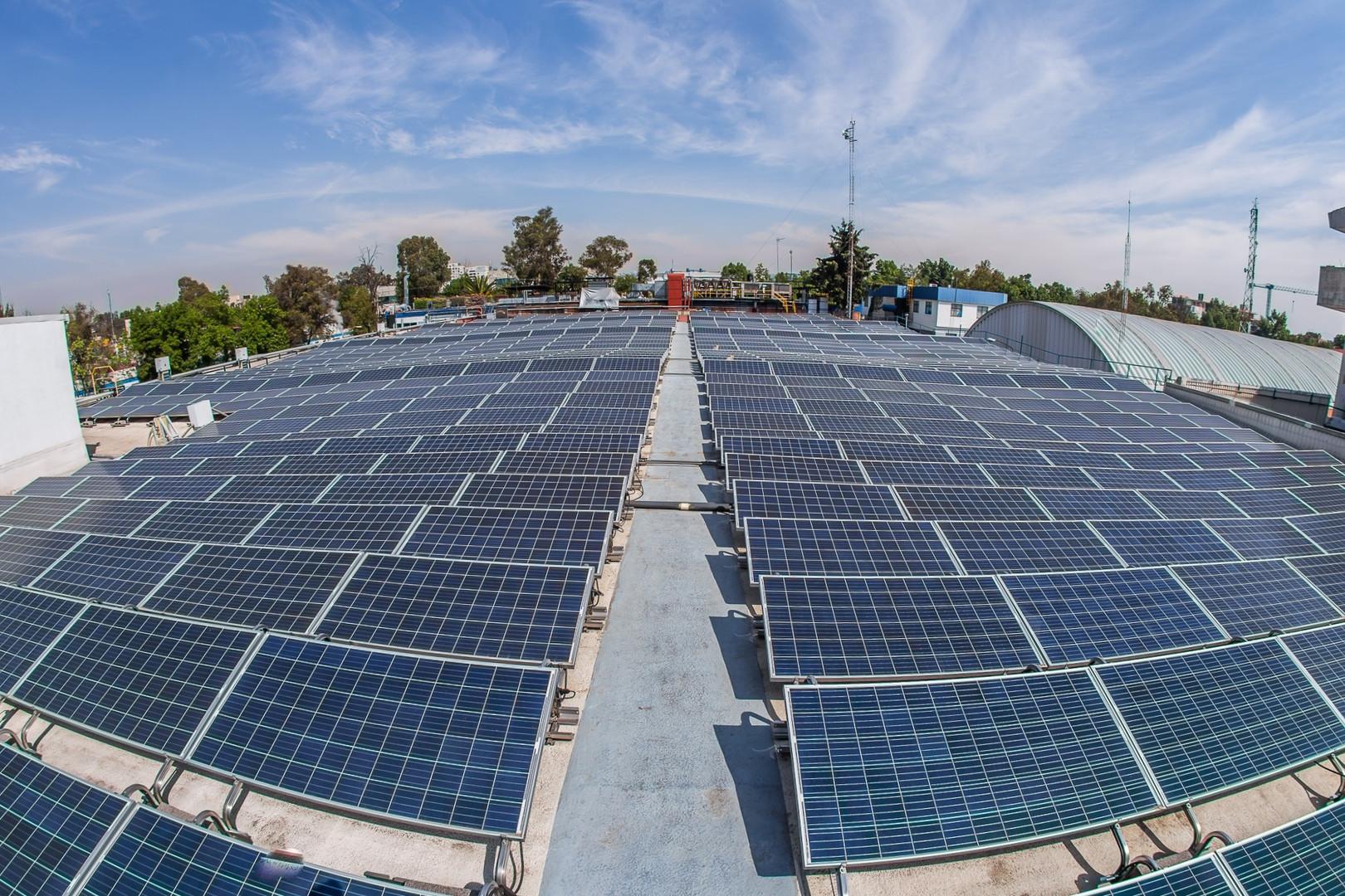 Reducción del uso de energía a través de energía solar