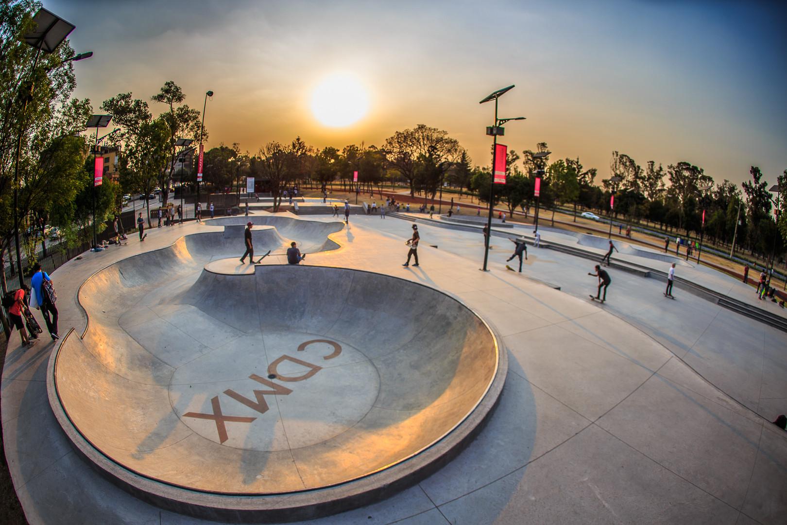 Skate Park, Constituyentes, Bosque de Chapultepec 2ª sección