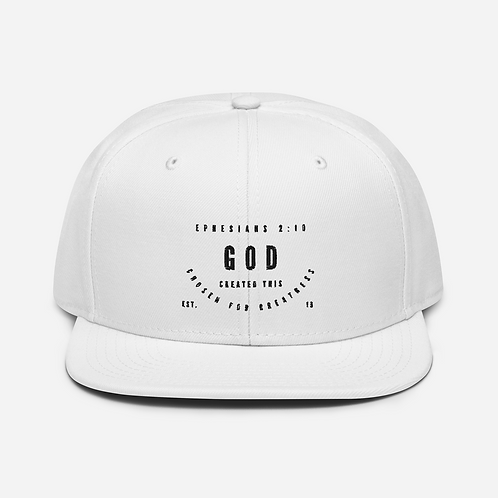 CHOSEN FOR GREATNESS, SNAPBACK CAP