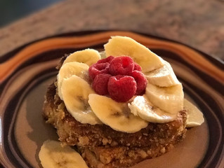 Captain Crunch Crusted Stuffed French Toast made A Little Healthier
