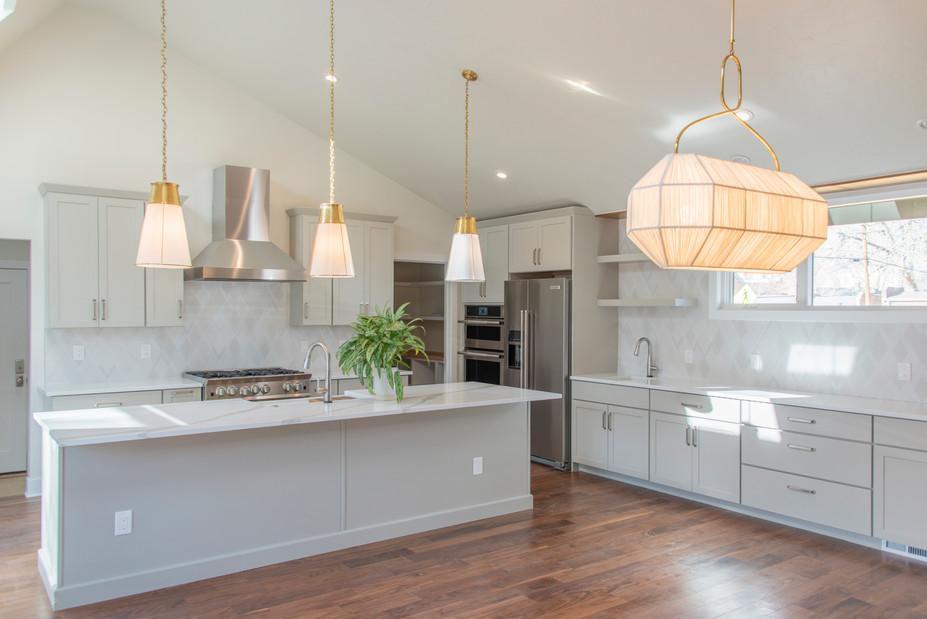 A Modern Kitchen - North Denver