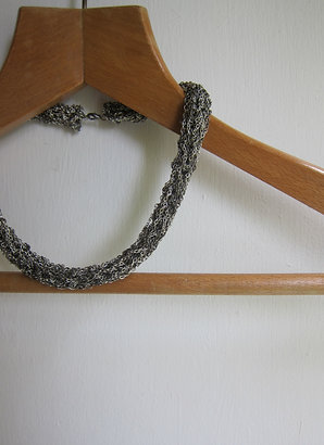 Big Purl Necklace
