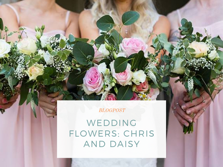 Wedding Flowers: Daisy and Chris, Doddington Hall