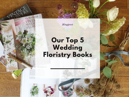 Our Top 5 Wedding Floristry Books
