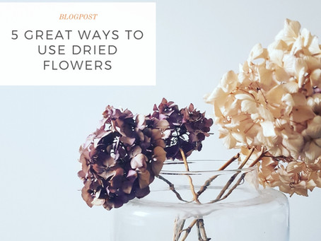 5 great ways to use dried flowers