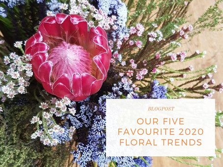 Our five favourite 2020 floral trends